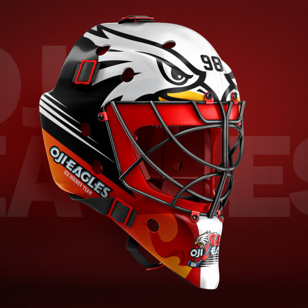 Hd Wallpapers Hockey Goalie Mask Design Template 3d Moving