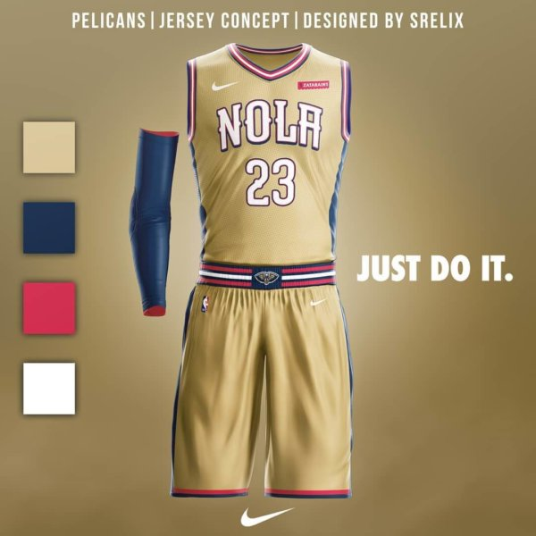 8939a2076 ... wholesale new orleans pelicans jersey concept nike ad spo faad5 26792
